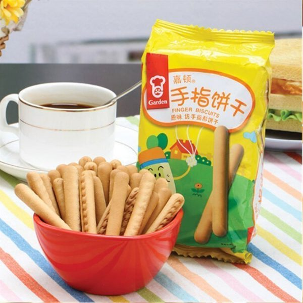 Garden Finger Biscuits